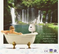 Picture of enjoying ultrasonic home spa products (system)